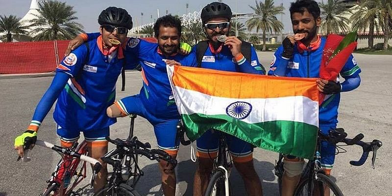 6b3d287e1 Currently getting ready to compete in the 2017 UCI Para-cycling Road World  Championships