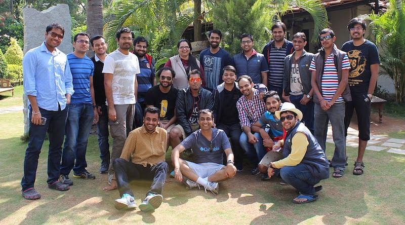 Ashish with Flipkart team