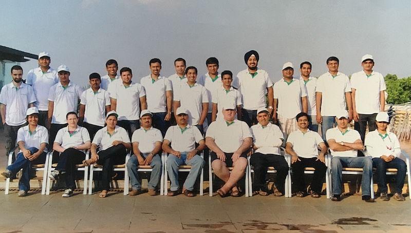 Early team of Druva