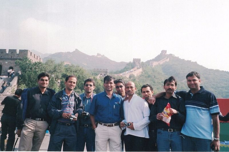 Satish in Beijing, to participate in an IBM conference