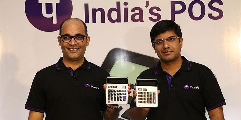 PhonePe founders Sameer Nigam and Rahul Chari
