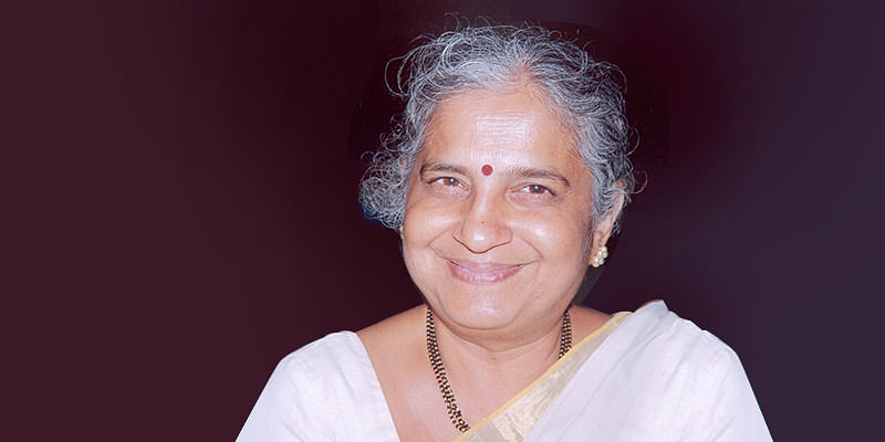 Sudha Murty: You have to break the chains that hold you back and