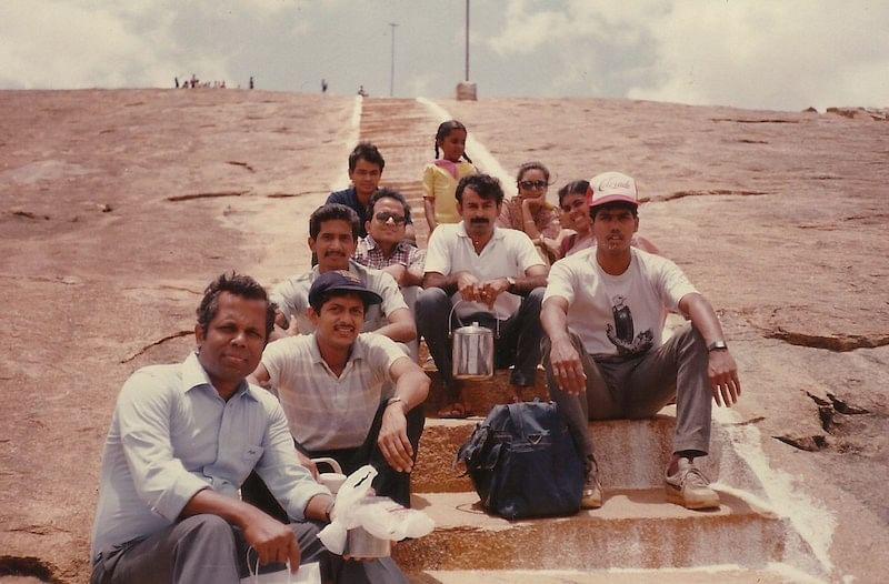 Vasan with TVSE team