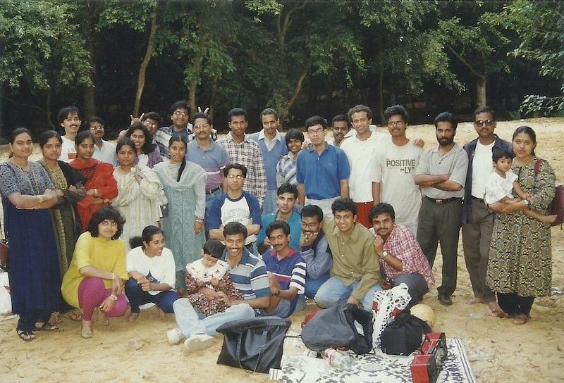Vasan with Wipro team