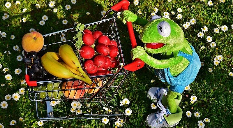Amazon online grocery kermit