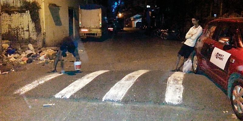 After senior journalist's road accident, youngsters paint speed