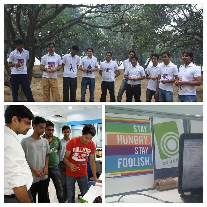 Prashant during his startup Kartmagic