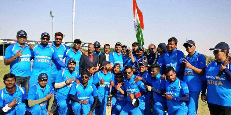 India Beat Pakistan In Blind Cricket World Cup Final