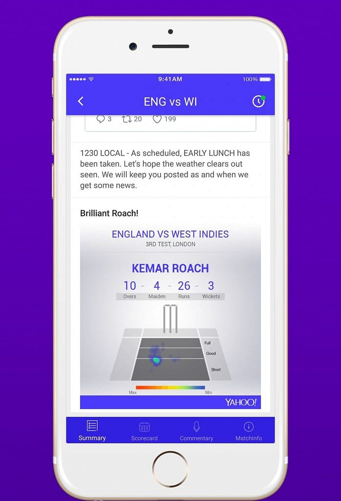 India vs england test match live score yahoo