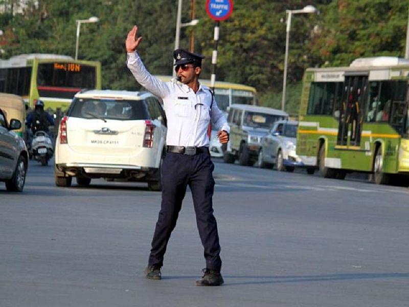 Meet Indore's dancing cop who moonwalks to reduce traffic rule violations