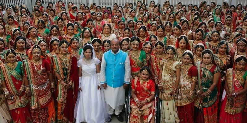 This businessman from Surat married off 251 poor girls, gave Rs 5