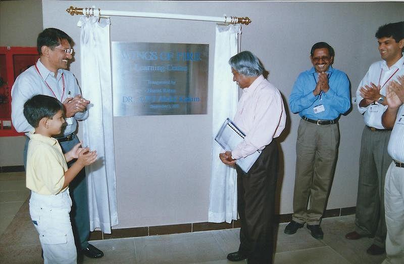 Dr APJ Abdul Kalam visits Sasken to Inaugurate Learning Center (4)