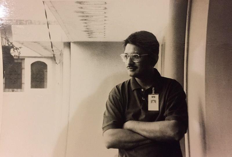 Rajiv at the SAS office in Indiranagar