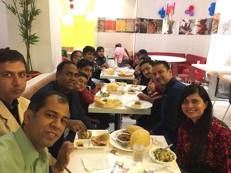 Anil at a Mini BITS Reunion (2017)