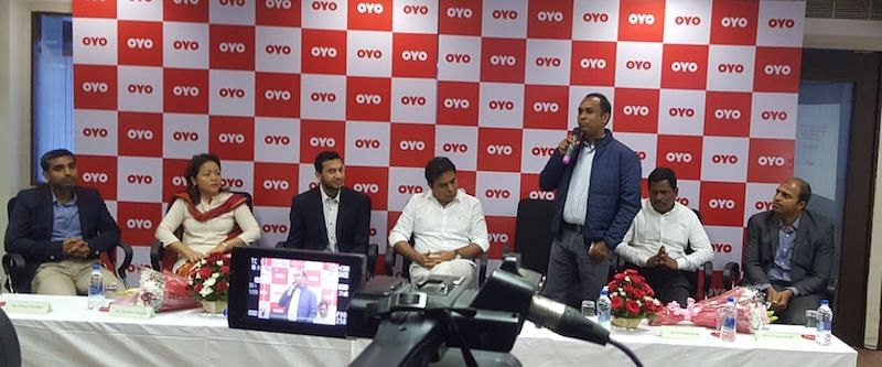 OYO Hyderabad Tech Centre Inauguration by Honorable Minister K T Rama Rao