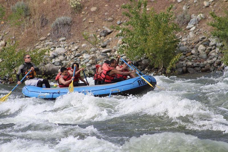 River Rafting at Wenatchee River, Washington