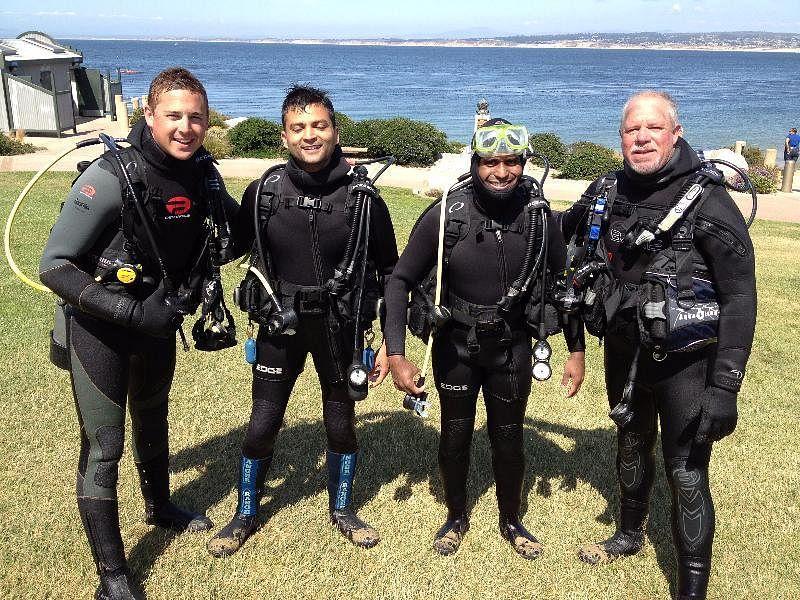 Scuba at Monterery Bay, California