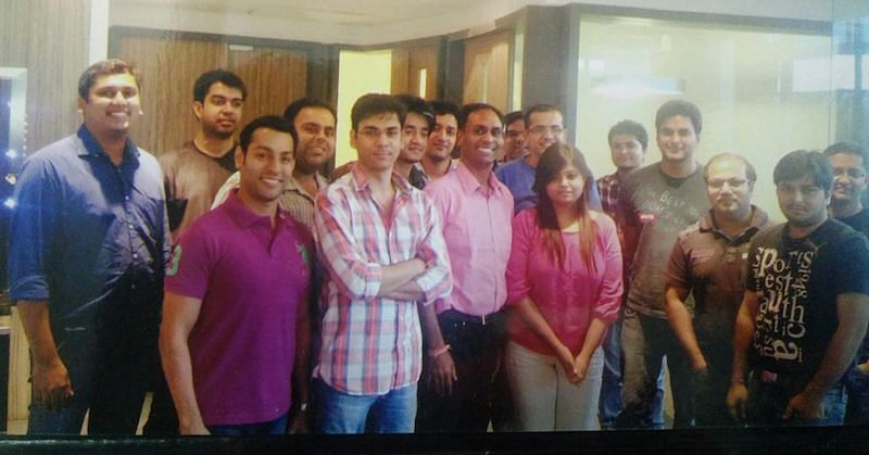 Anil with hike Team