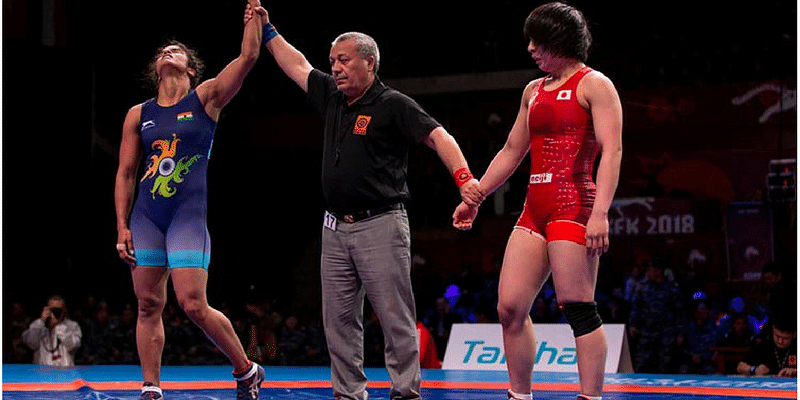 Navjot Kaur clinches India's first gold at Asian Wrestling