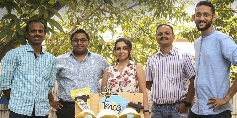 He quit his Accenture job to start up Tenco, a fresh coconut water