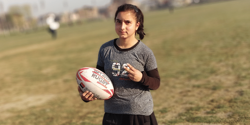 Meet Irtiqa Ayoub The 23 Year Old Kashmiri Rugby Player Who Is Levelling The Playing Field