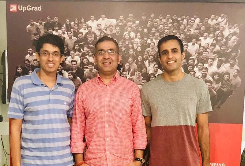 (From L to R) Mayank Kumar, Himanshu Batra, Ravijot Chugh