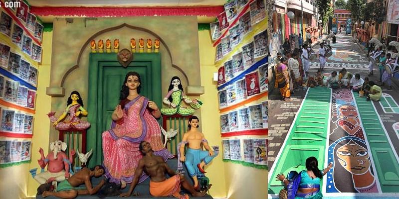 Kolkata dedicates a special Durga puja pandal to Sonagachi's sex workers