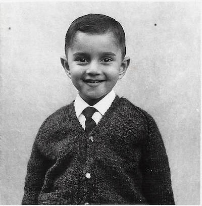 Anand as a child