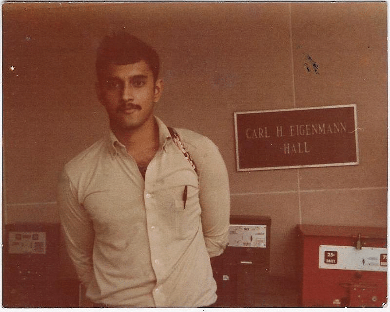 Anand in Indiana University
