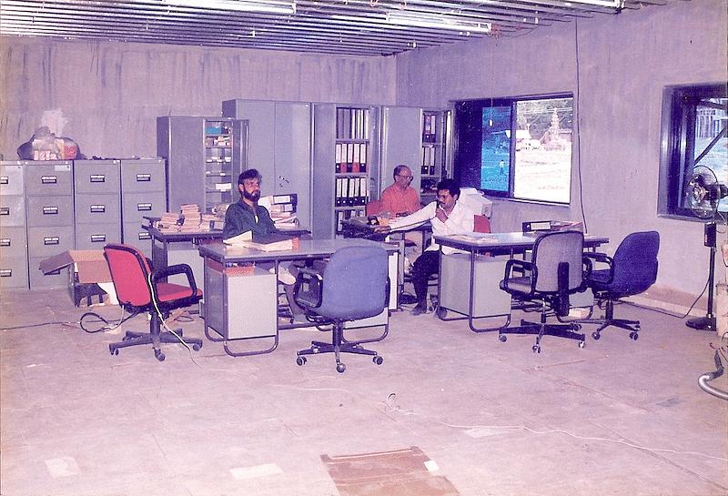 First Office Set up