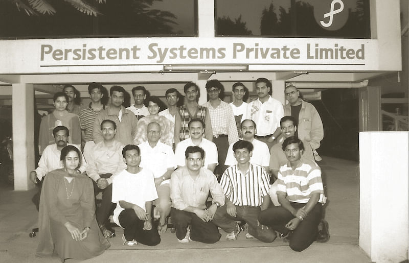 First employees at Persistent Systems
