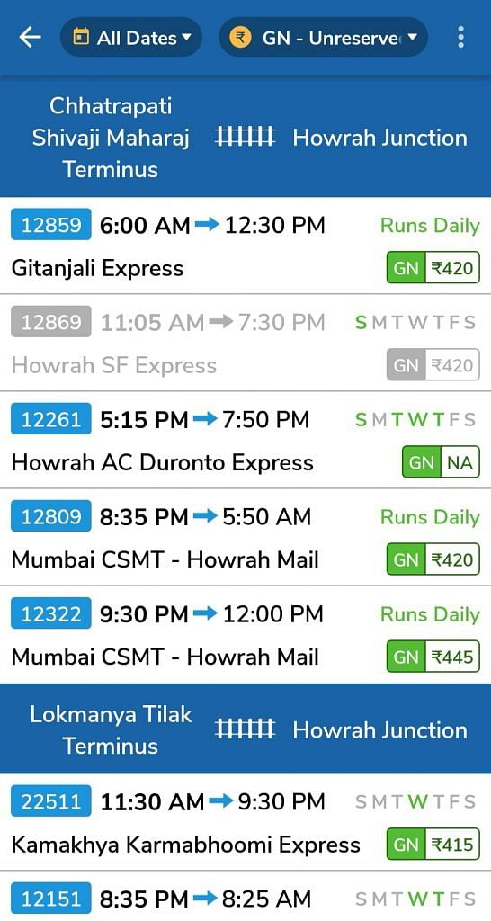 App Fridays] Ask 'Where Is My Train' to access IRCTC timetable