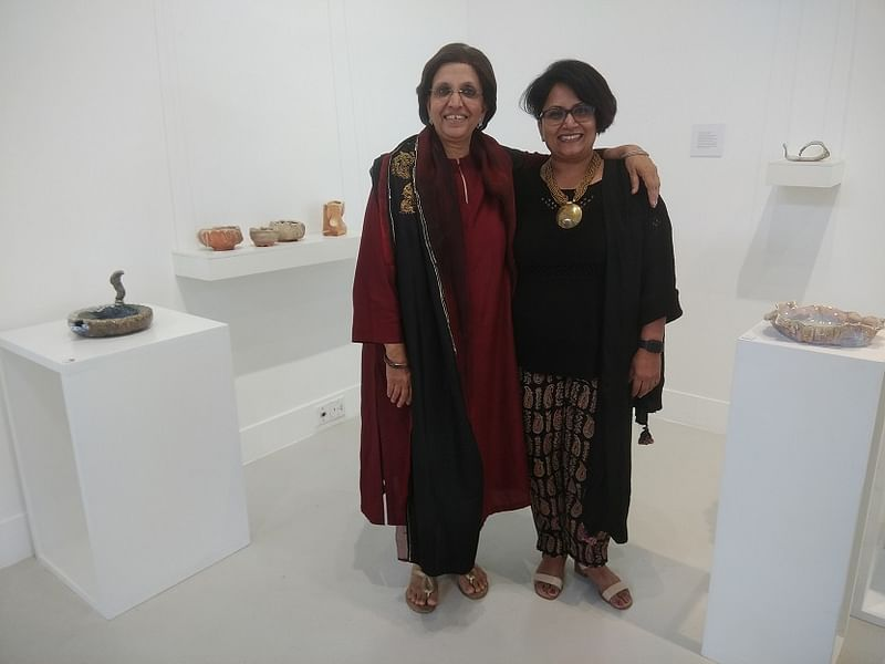 Ruby Jhunjhunwala (L), Gomathi Suresh (R)