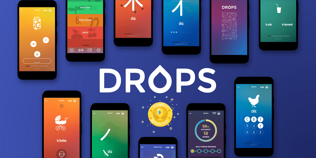 App Fridays] Meet Drops, Best App of Google Play 2018 that