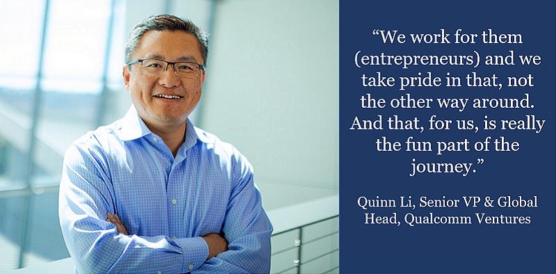 Qualcomm Ventures Quinn Li