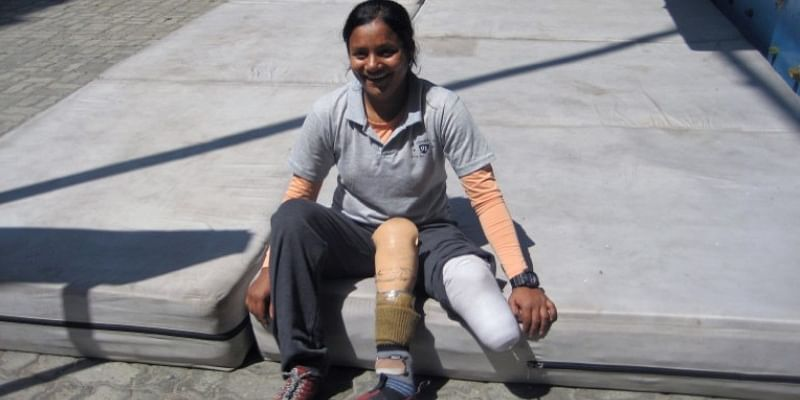 Arunima Sinha Becomes First Woman Amputee To Scale