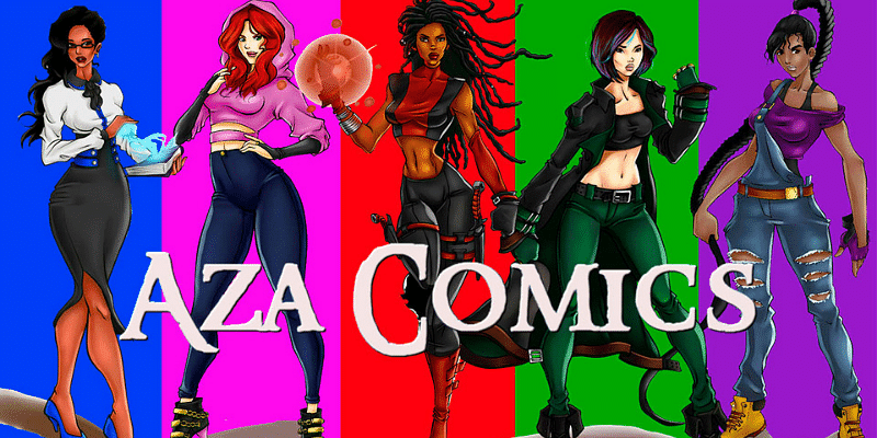 Aza comics women