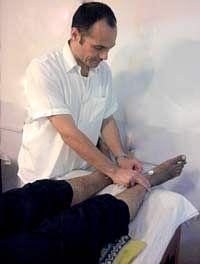 Dr Walter Fischer, Barefoot Acupuncturists, Dharavi, Mumbai