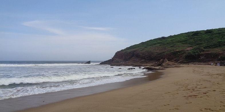 Figure 14 Yarada beach, Vishakapatanam