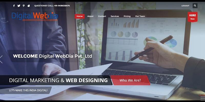 Digitalwebdia.com Startup Company