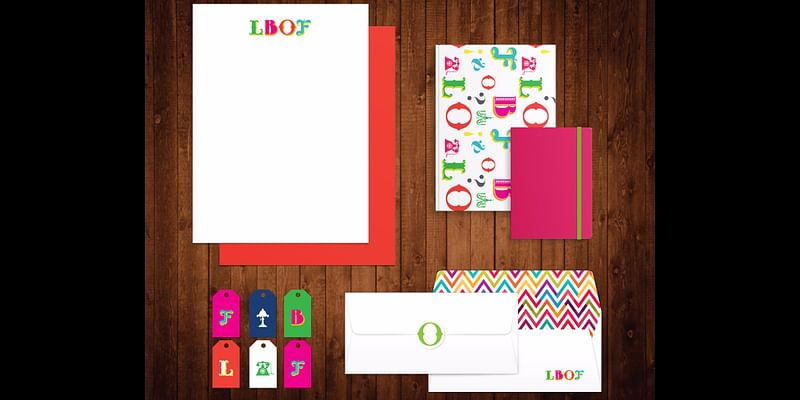 Branding and stationery for A Little Bit of Fabulous (LBOF)