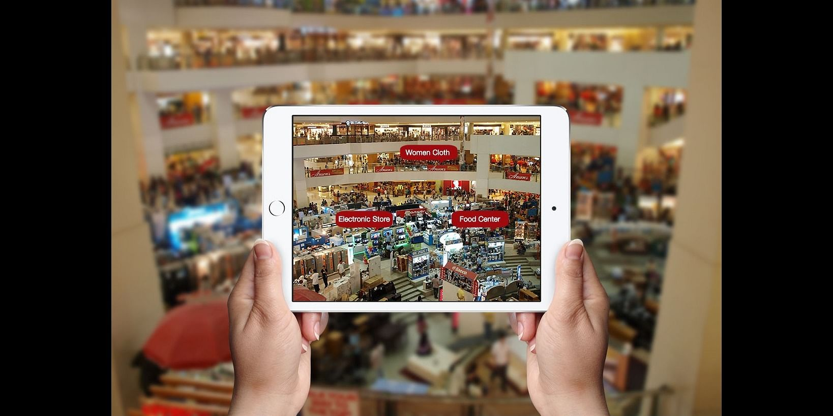 Augmented Reality in retail. Credit: Medium Copper Mobile