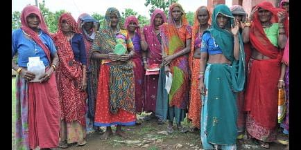 Tribal women from Udaipur district, Rajasthan