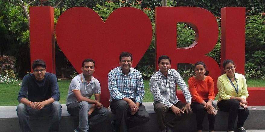 Saikrishna, Mukesh, Ashish (Scientist at ABB Corporate Research Center), Lov, Yukti and Himashri - ABB Interns