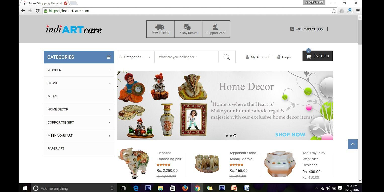 IndiARTcare   Indian Handicrafts Online
