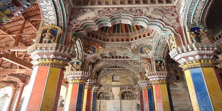 Figure 6 Darbar Hall, Tanjavur Palace and Museum