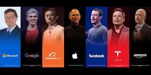 A glimpse into the journeys of leaders who first, conquered the world of technology and then, conquered the business world.