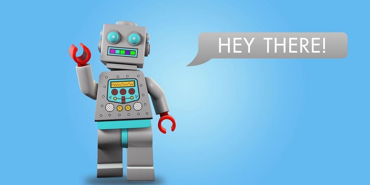 Meet Ralph, the Lego Bot