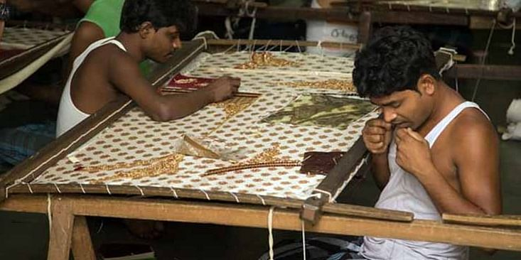 Dharavi caters around 15,000 single room factories.