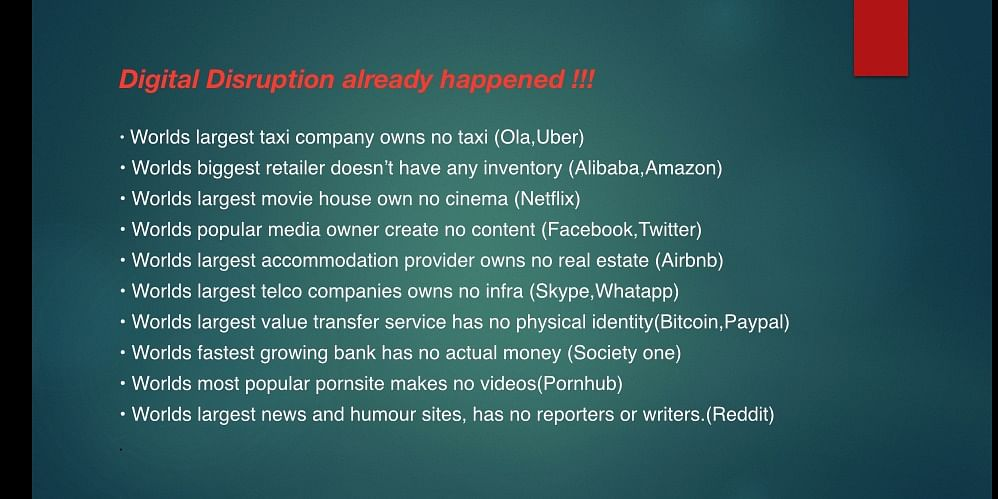 Disruption in daily life